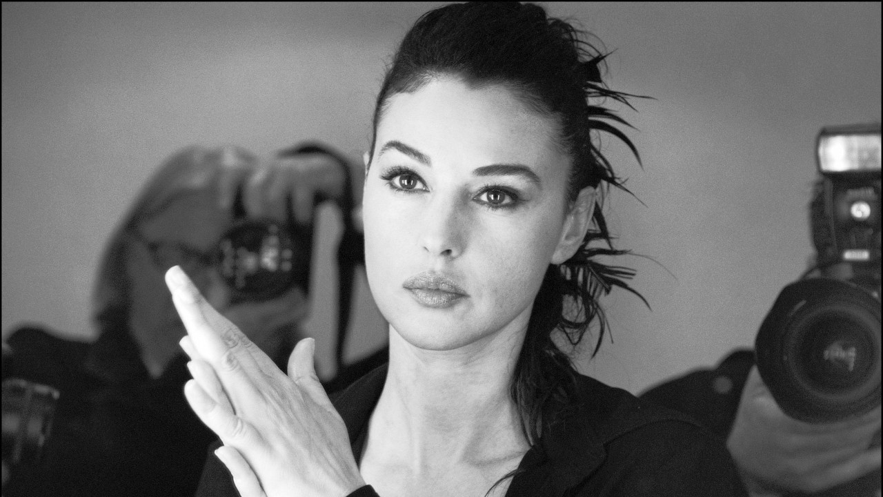 monica bellucci, actress, face wallpapers