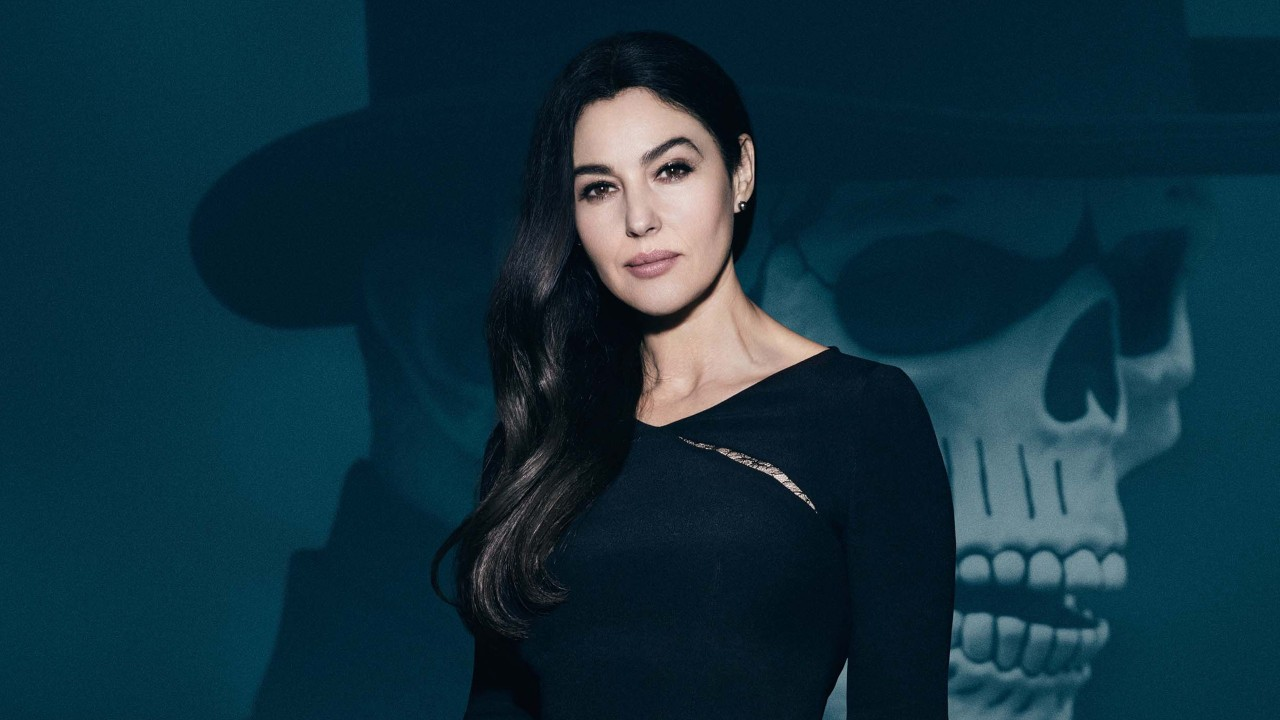 monica bellucci charming wallpapers