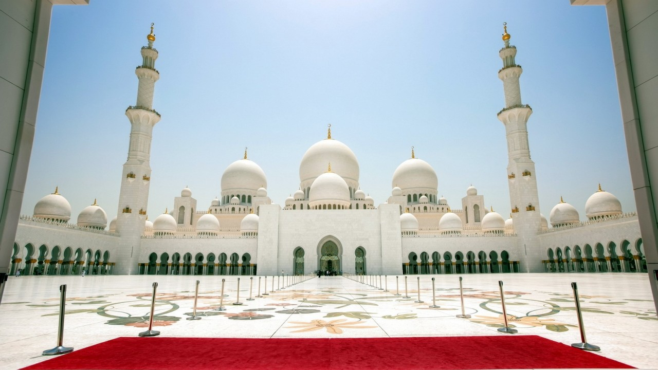 Sheikh Zayed Mosque Abu Dhabi wallpapers