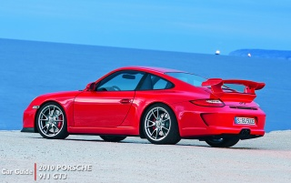 2010 Porsche Gt3, multimedia wallpapers