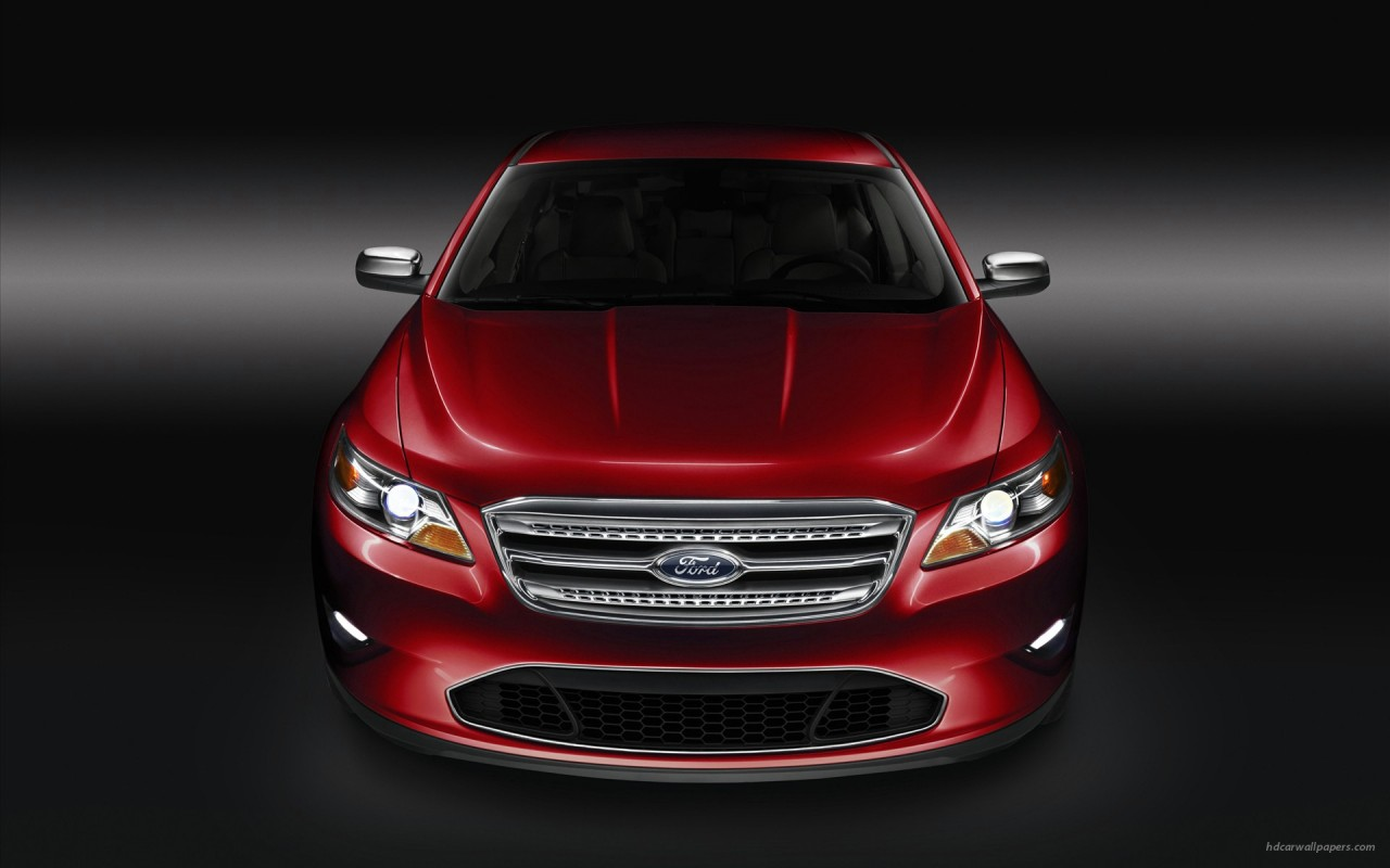 2010 Ford Taurus, coches wallpapers