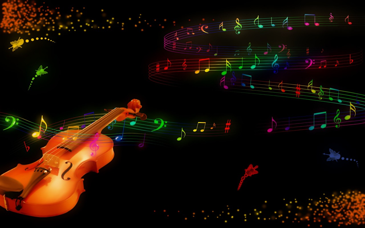 Violin, music wallpapers