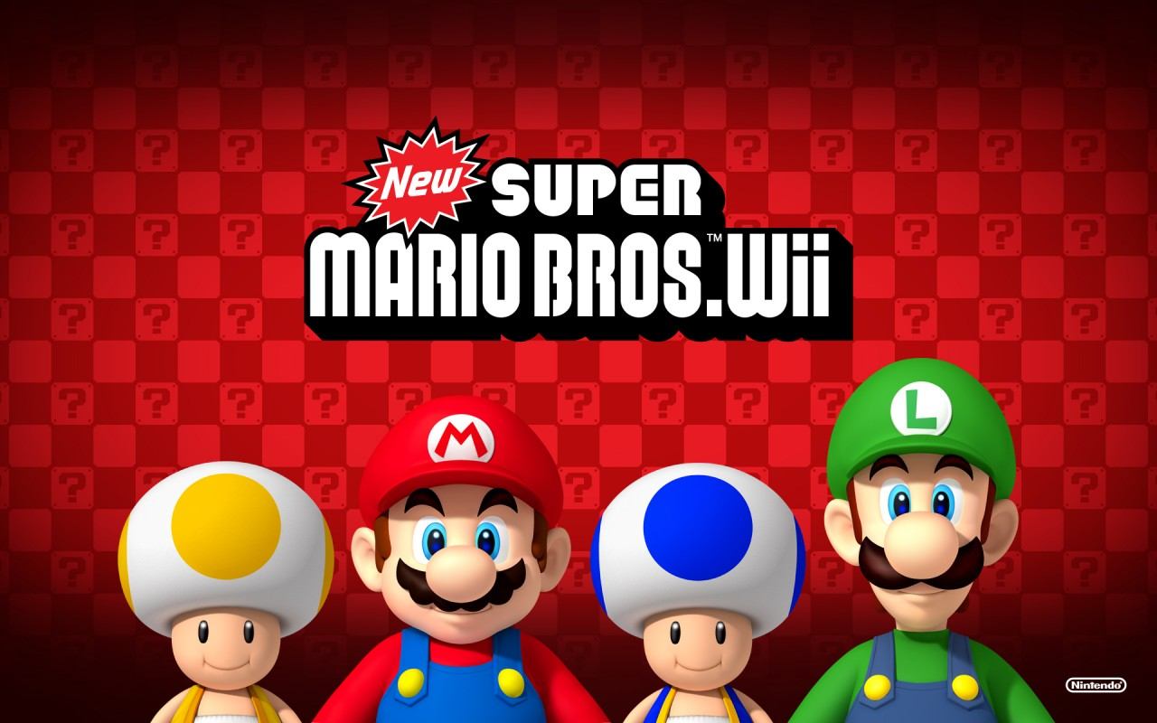 New Super Mario Bros Wii, media, heroes wallpapers