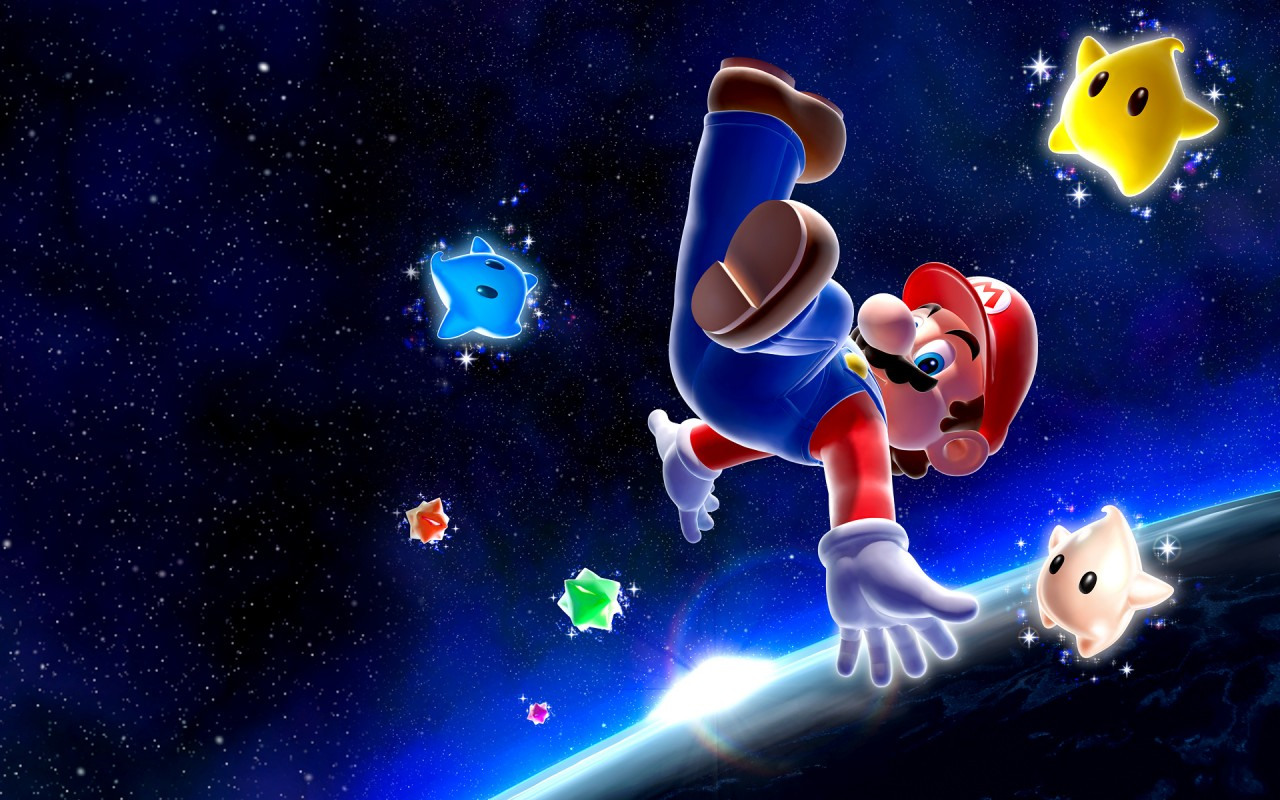 Super Mario Galaxy Contemporáneo Fondos De Pantalla Super