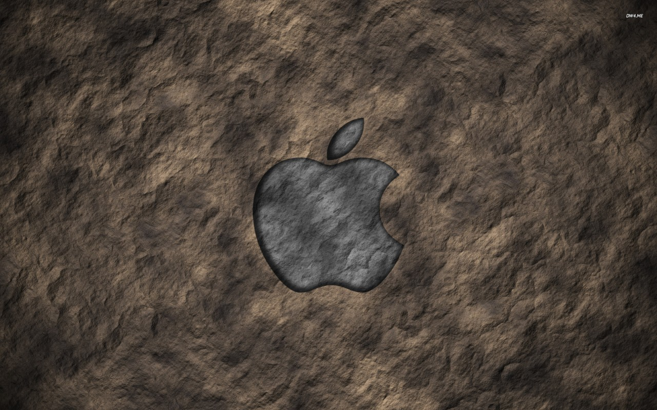 Apple, stone wallpapers