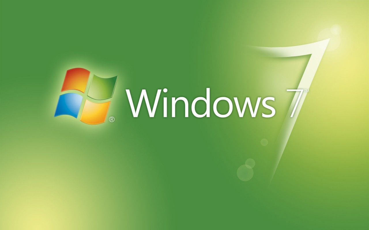 Window 7, theme, green, seven wallpapers