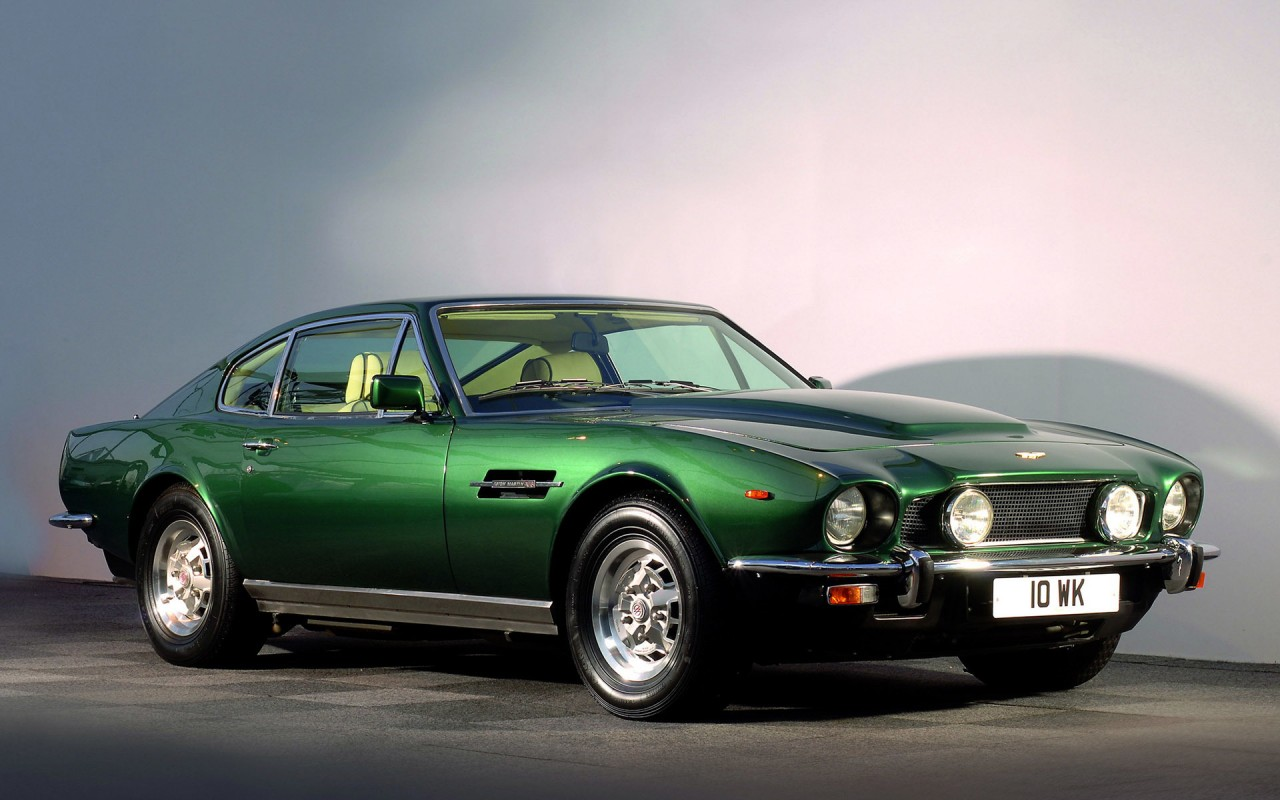 1977 Aston Martin V8 Vantage Car Cars Wallpapers 1977 Aston Martin V8 Vantage Car Cars Stock Photos