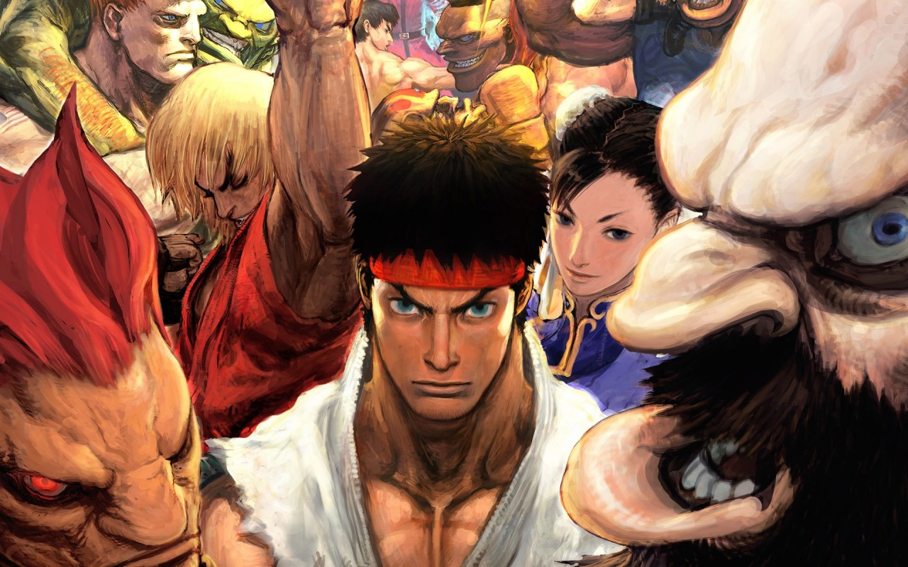 Hyper Street Fighter Ii, stick wallpapers