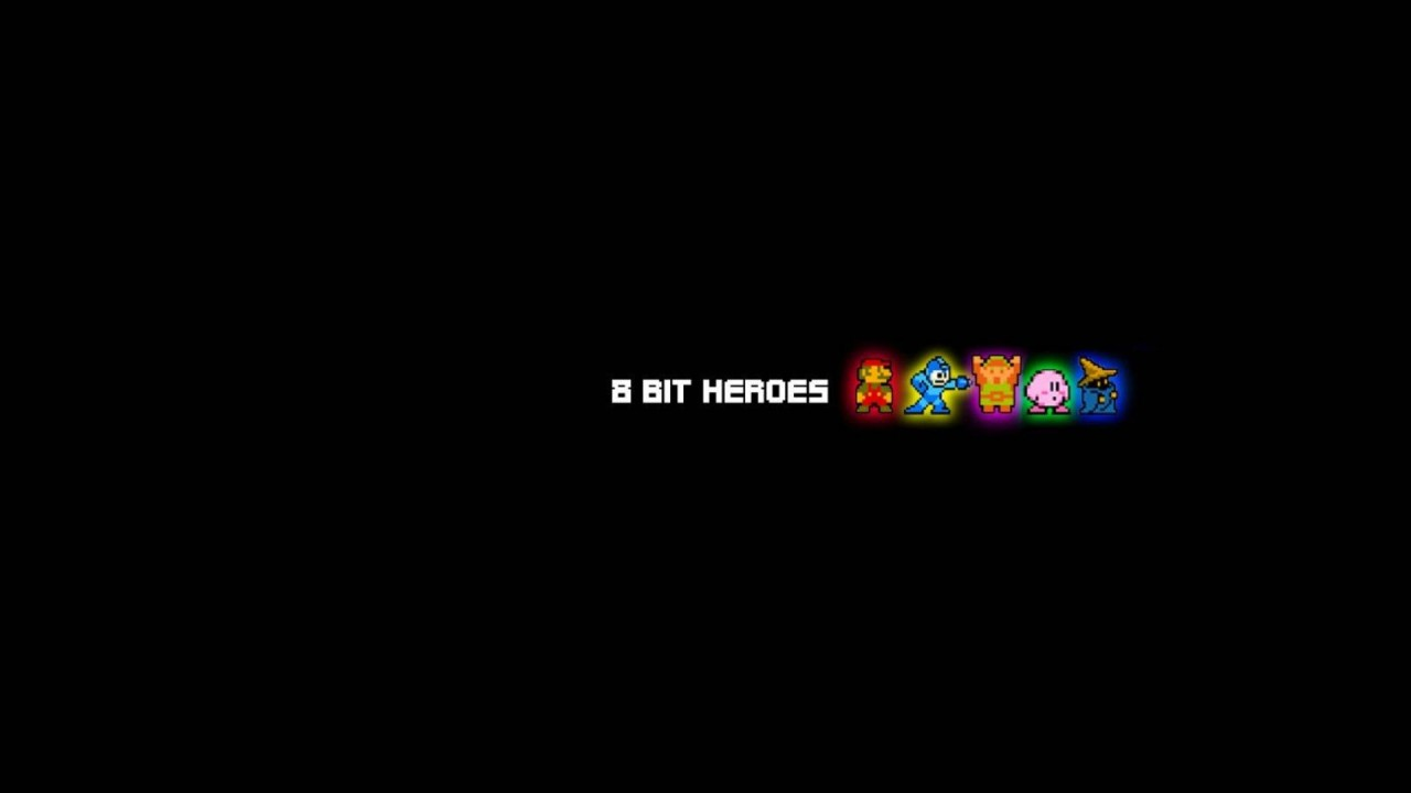 8 Bit Heroes,  awesome, cool, funny wallpapers