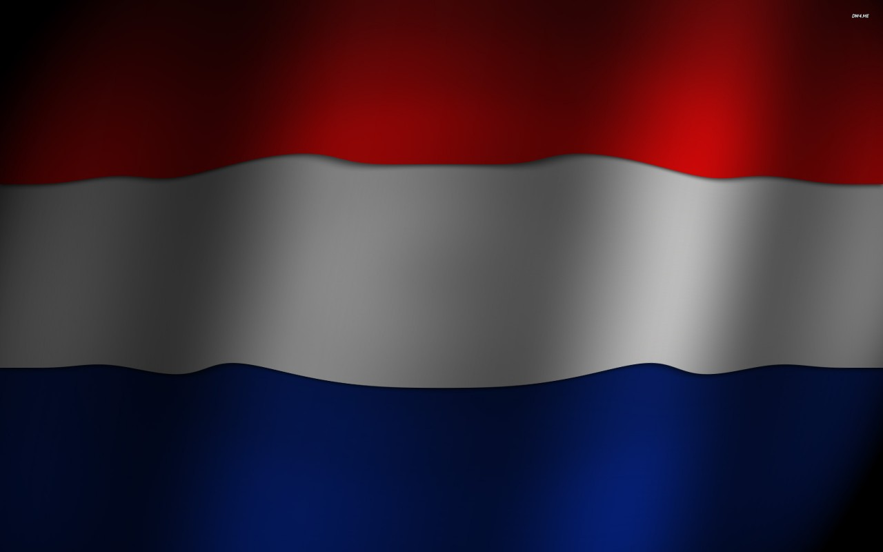 Flag of Netherlands, europe, digital-art wallpapers