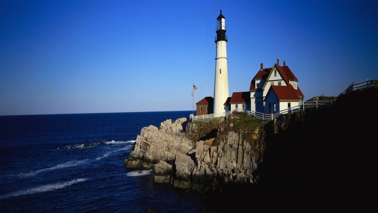 Lighthouse,  lighthouses, architecture wallpapers