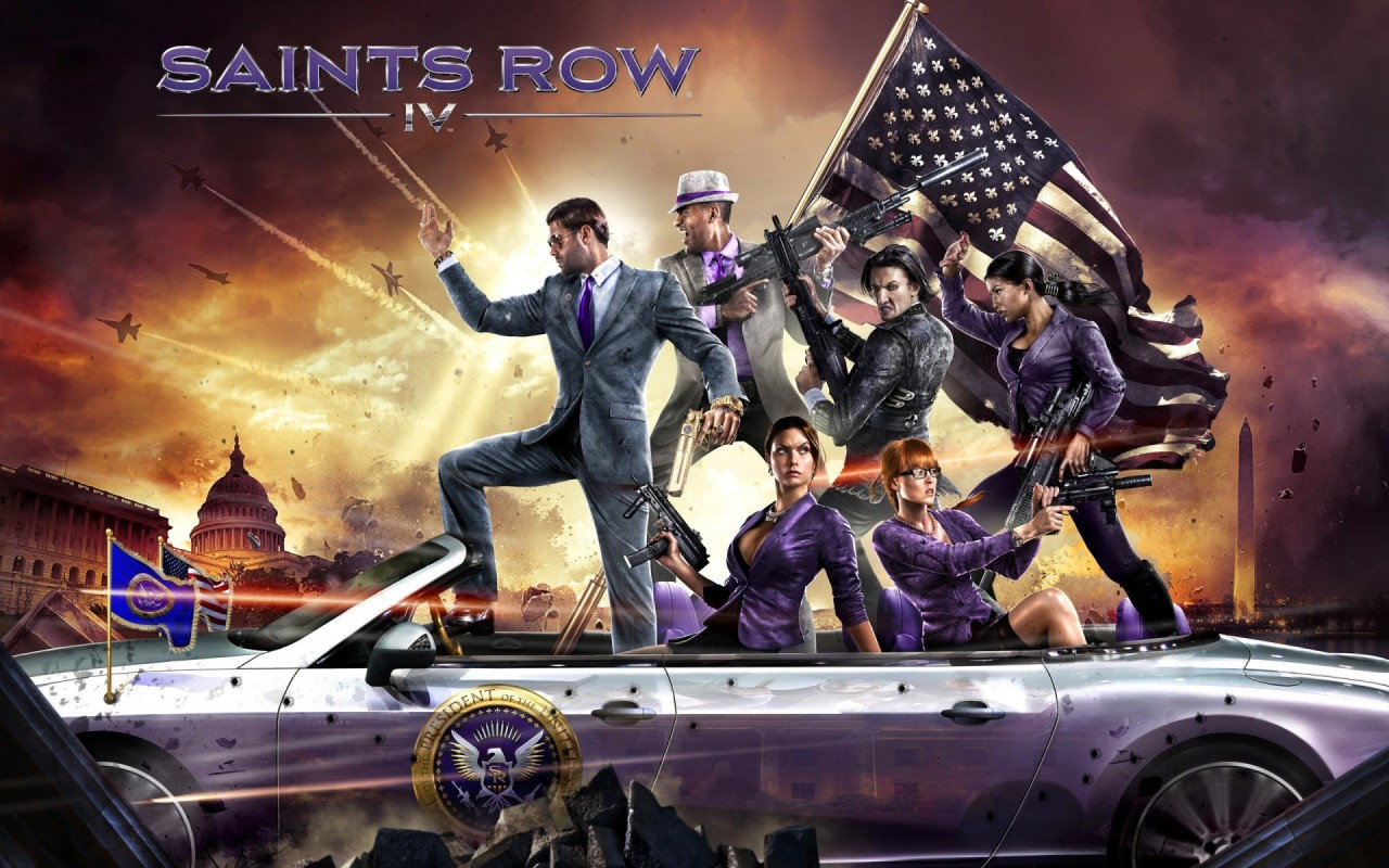 Saints Row 4, games, video, fox, star wallpapers