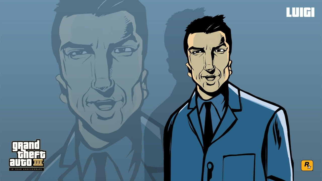 Gta 3 Characters Grand Theft Auto Wallpapers Gta 3 Characters