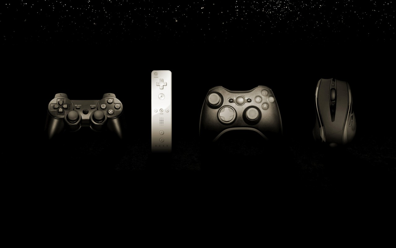 Game controllers, playstation, wii, nintendo, xbox, mouse, games wallpapers