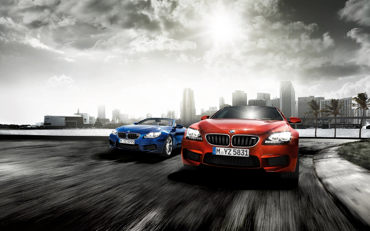 Bmw M6, coupe wallpapers