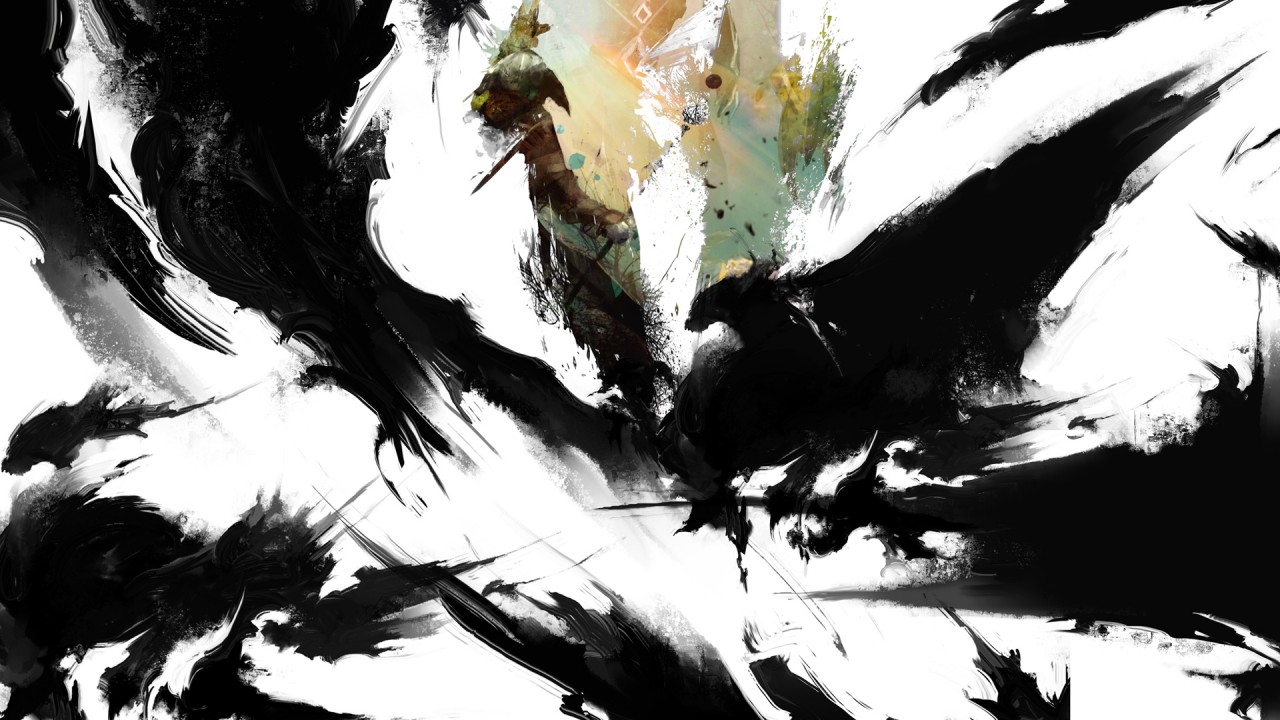 Guild Wars 2 Rainmeter, art wallpapers
