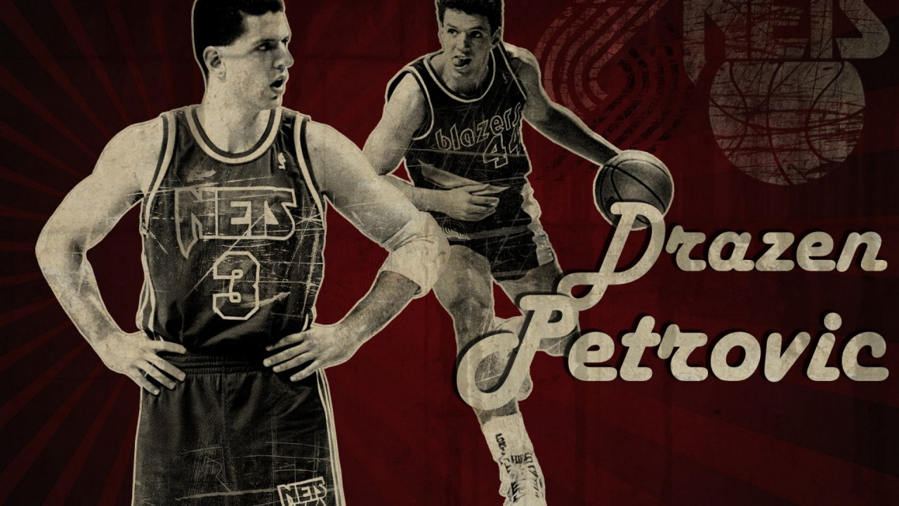 Drazen Petrovic, basketball wallpapers