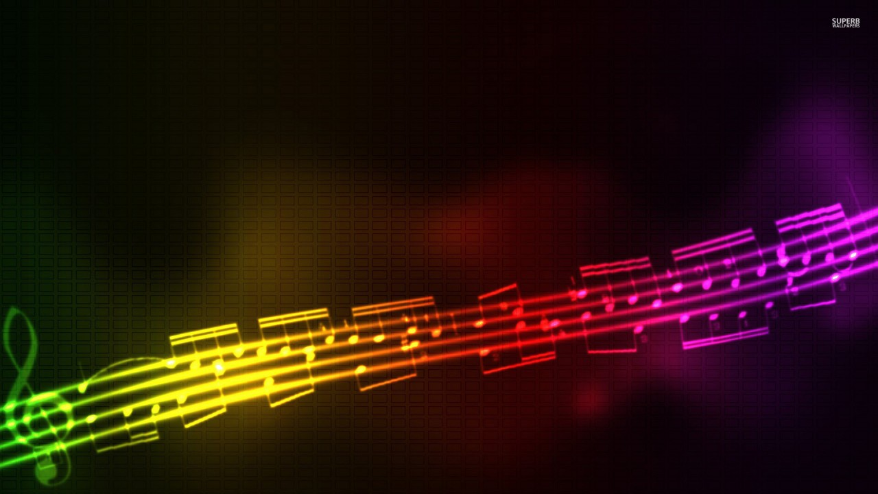 Music, abstract wallpapers