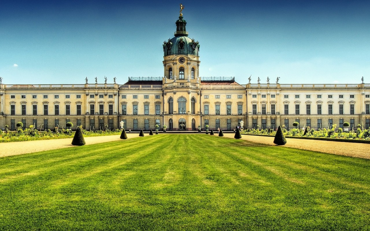 Charlottenburg Palace, cityscapes, castles wallpapers