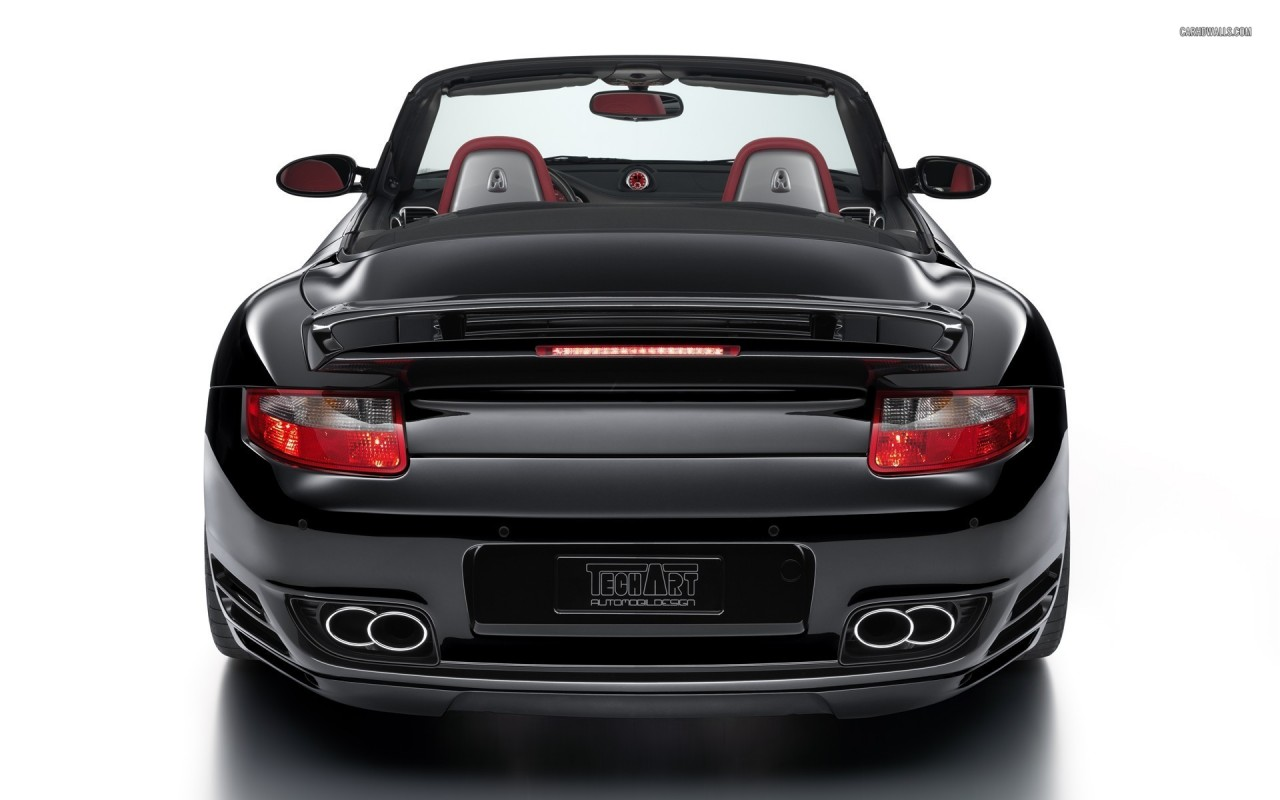 TechArt Porsche 997 Turbo Cabriolet, car, cars wallpapers