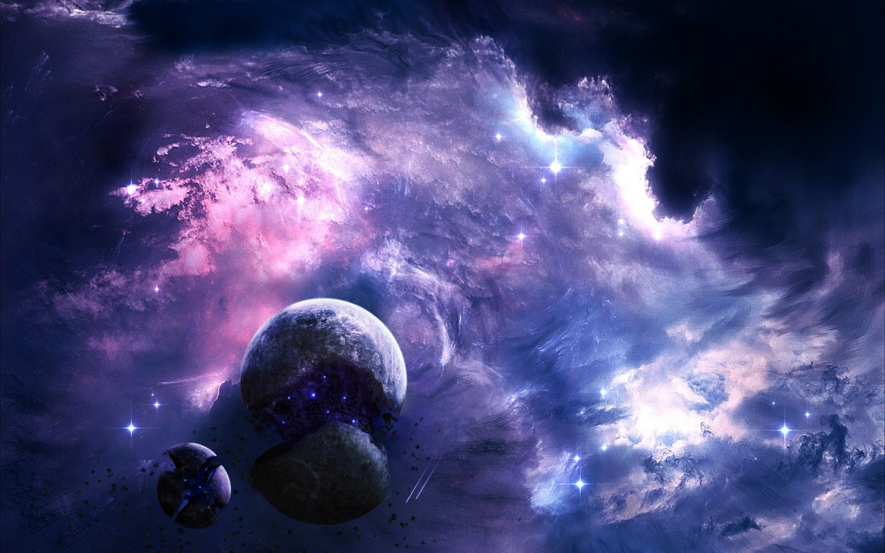 Outer Space, artwork wallpapers