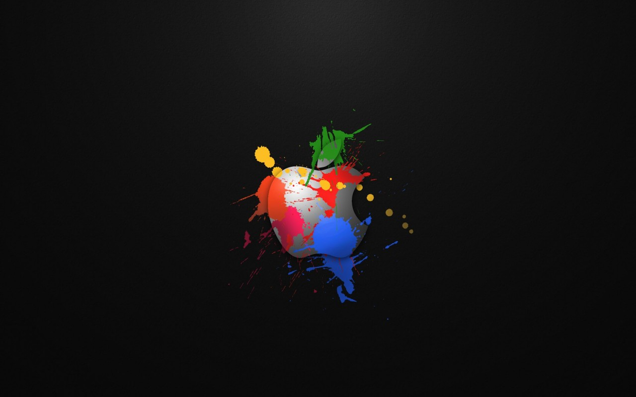 Iphone 5, apple, colours, cartoon wallpapers