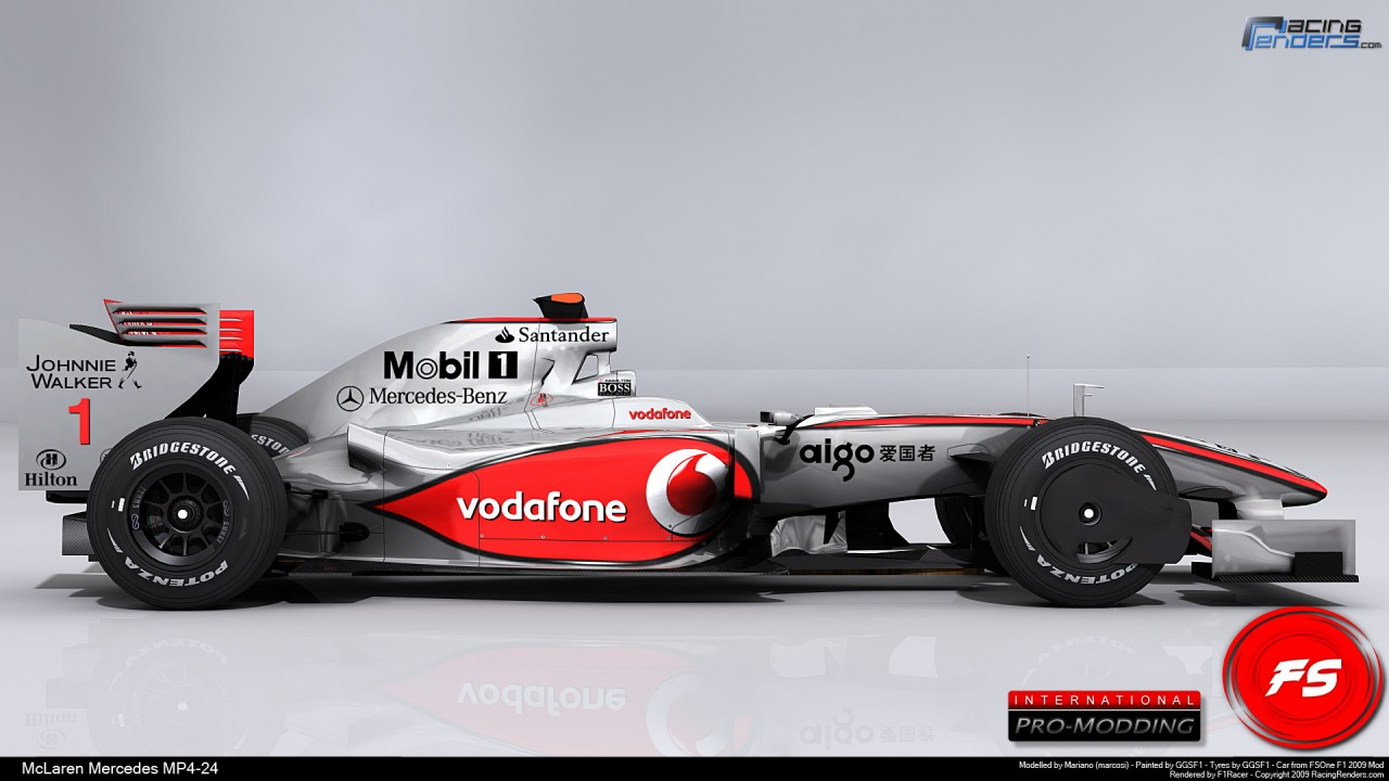 Mclaren Mercedes, animated, gallery, community wallpapers