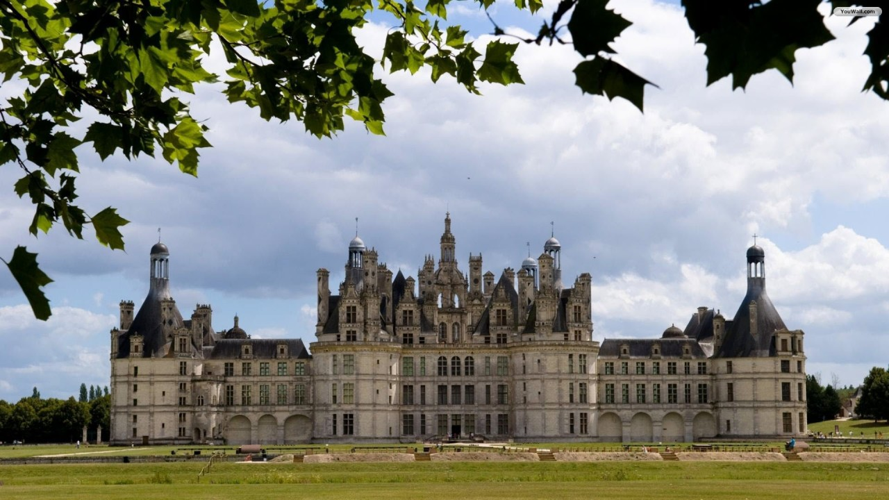 Chambord, castle, chateau wallpapers