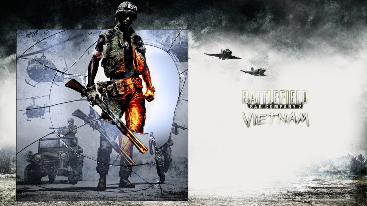 Battlefield Bad Company 2 Vietnam, videogames, savers wallpapers