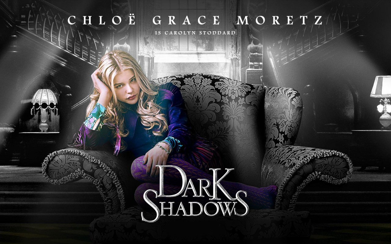 Chloe Moretz Dark Shadows, movies wallpapers