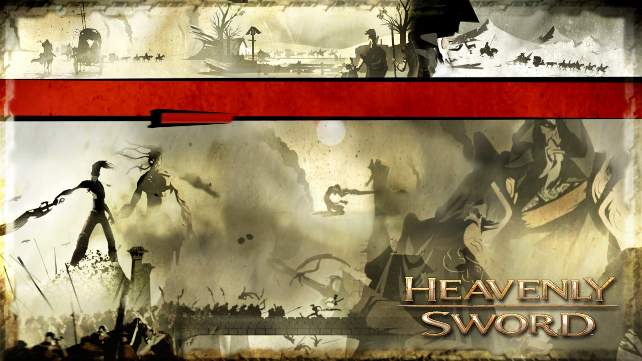 Heavenly Sword, anime wallpapers