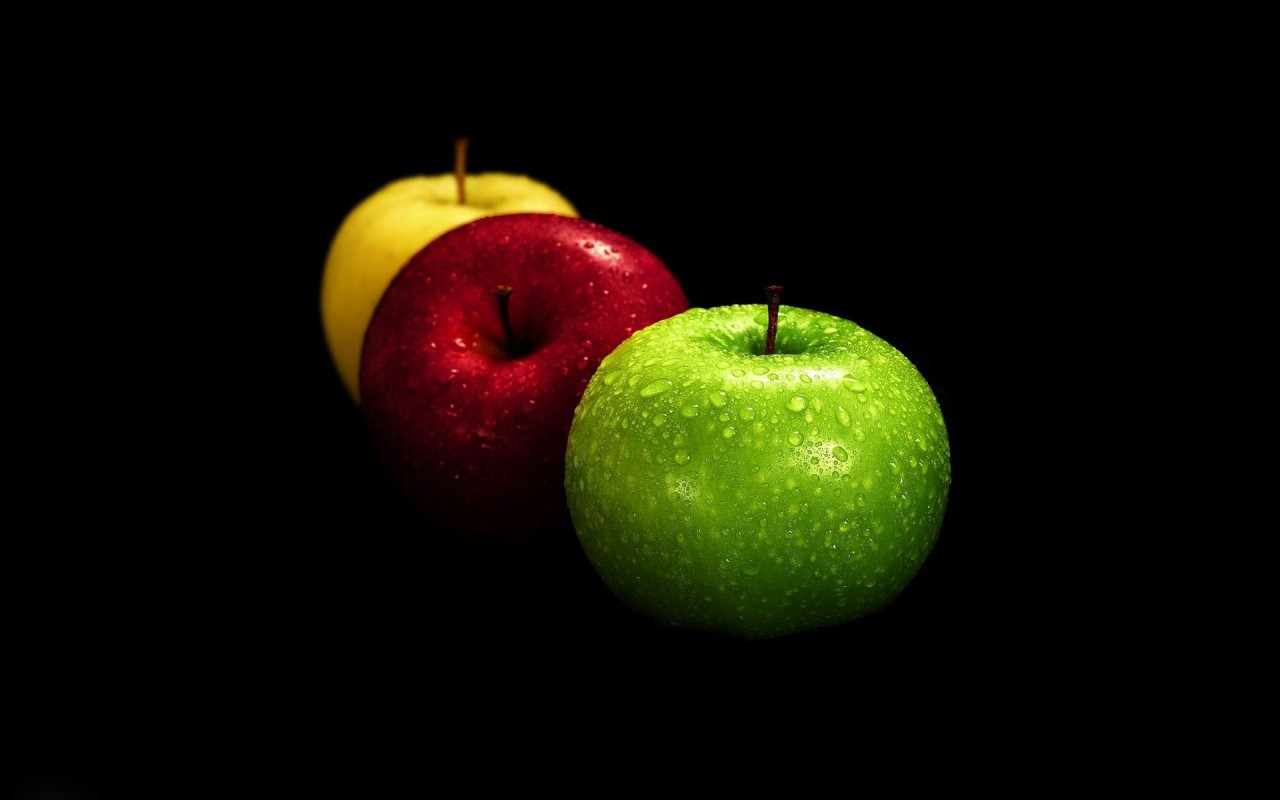 Apples, fruit, artistic wallpapers