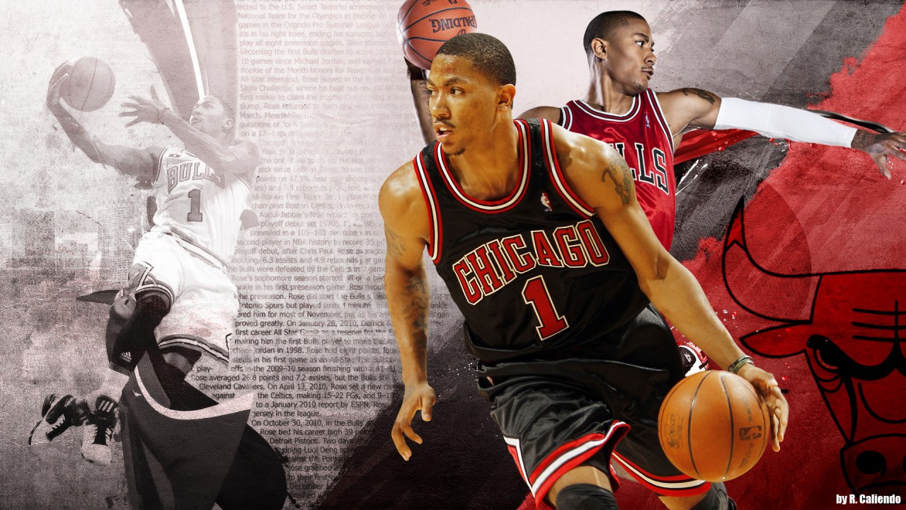 Derrick Rose, bulls, chicago wallpapers