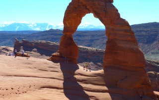 Arches National Park Delicate Arch Beaches Keys Back