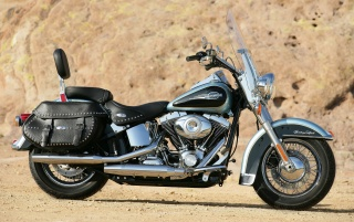 Harley Davidson Heritage Softail Classic,  popular, vehicles wallpapers