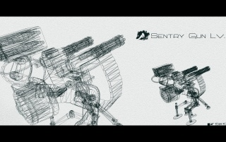 Sentry Gun, fotografie, fotografii, pereți wallpapers