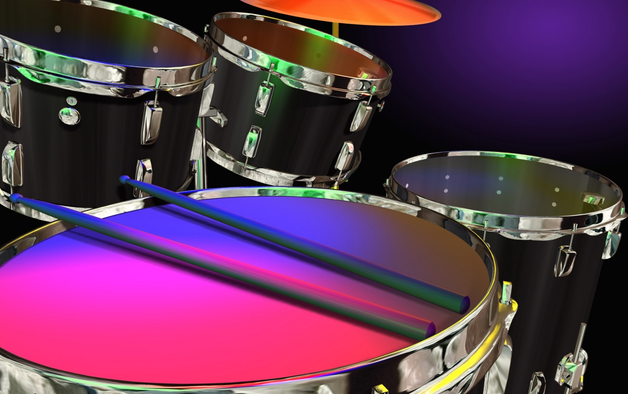 Drums in Color wallpapers