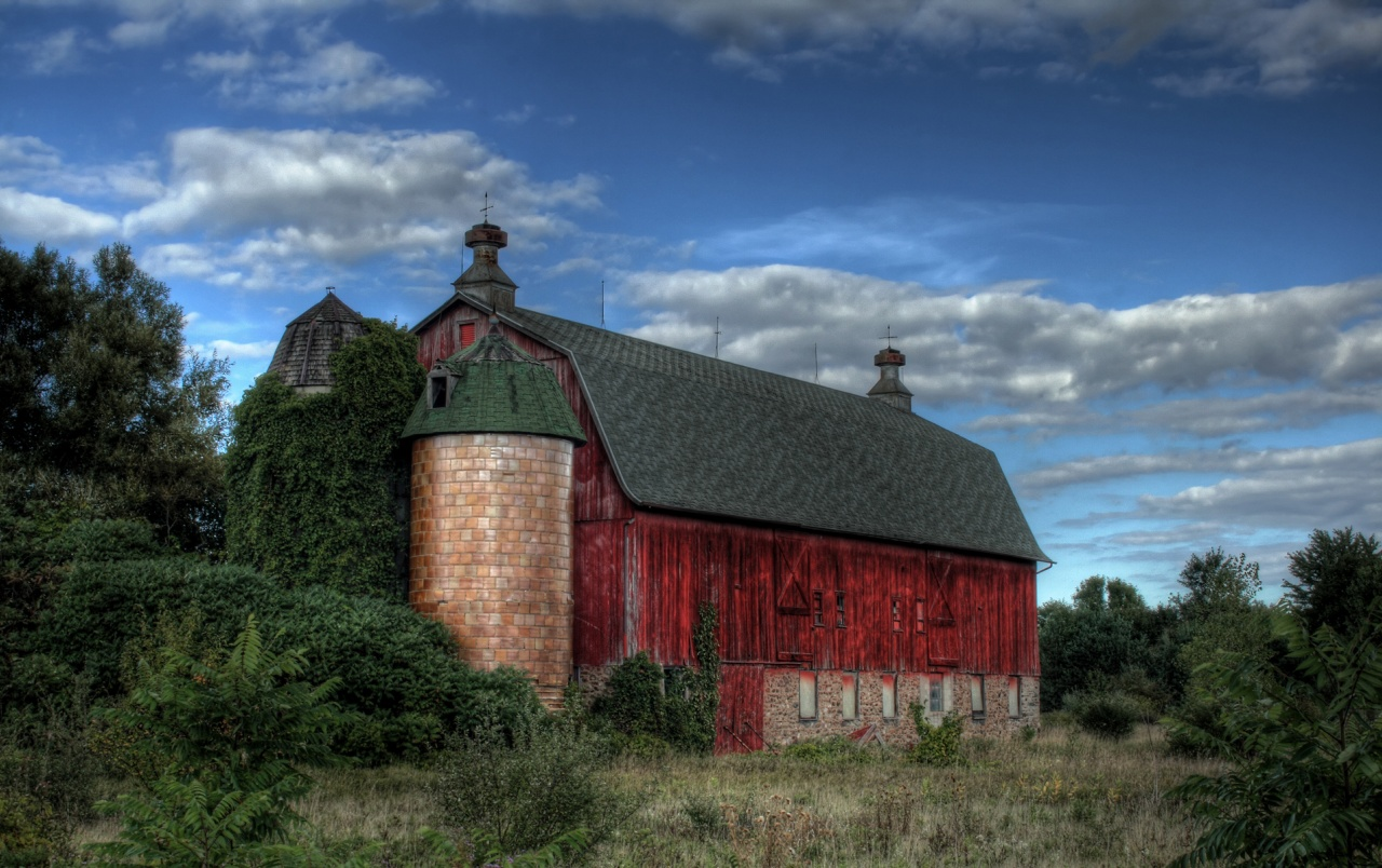 Old Red Barn wallpapers