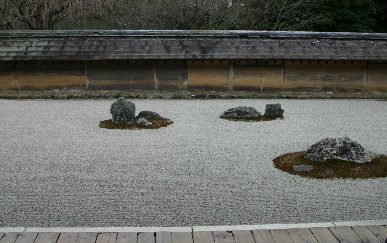 Zen rock garden wallpaper - Wide Leopard Rock Garden Wallpapers