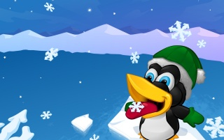 Christmas Tux wallpapers