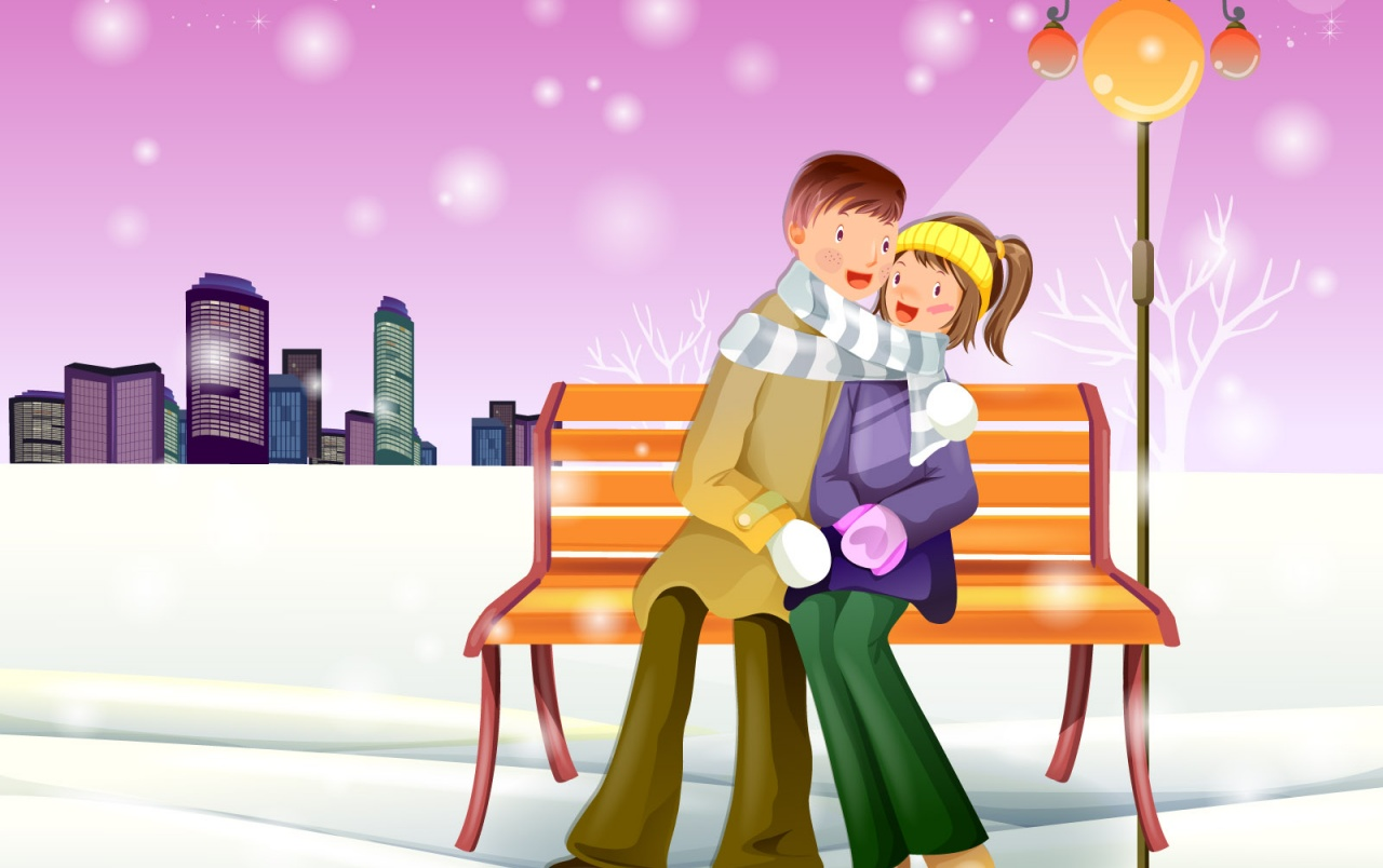 Winter Romantic wallpapers
