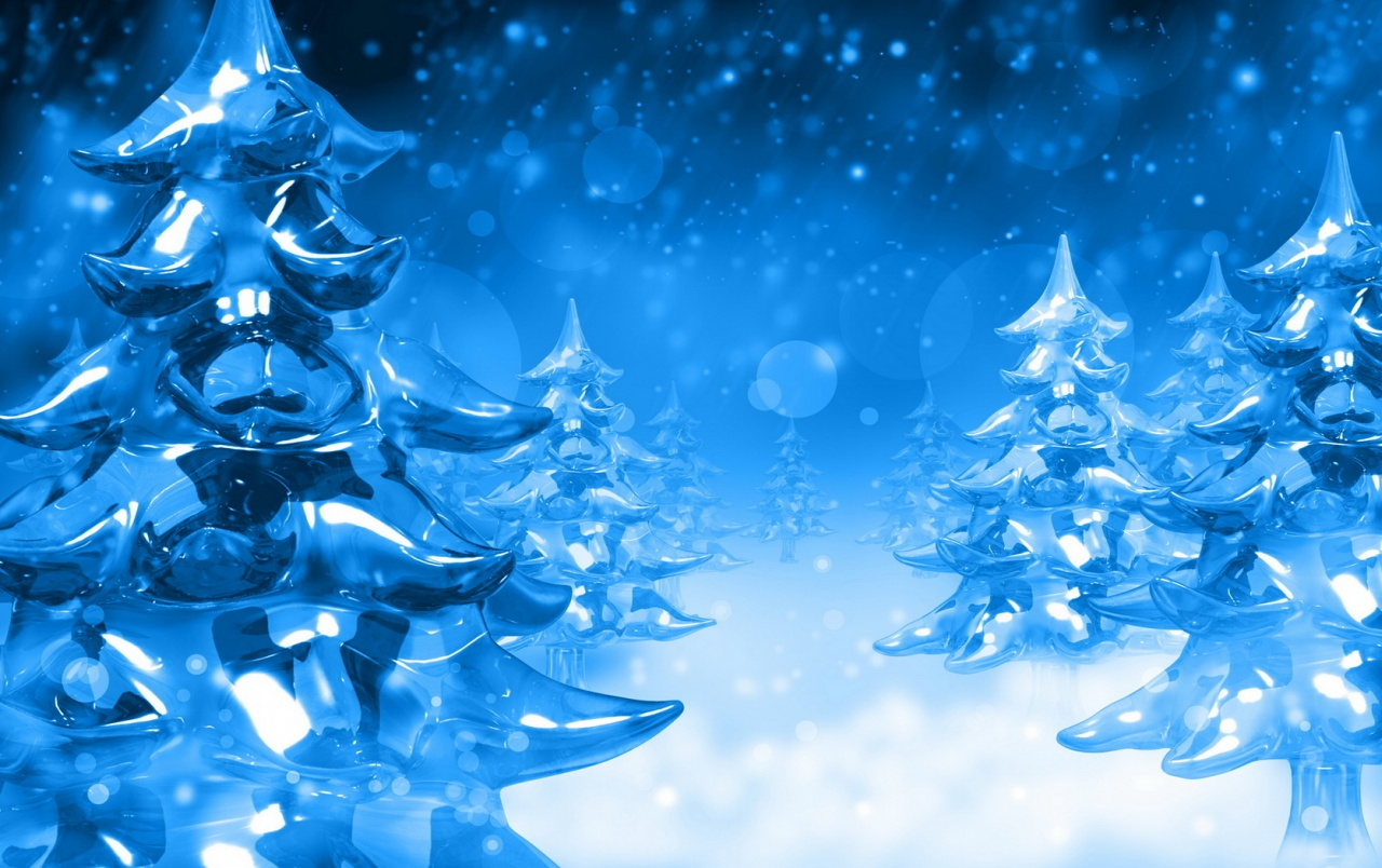 Ice Firs wallpapers