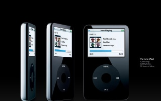 Featured New IPod Black Spin Wallpapers