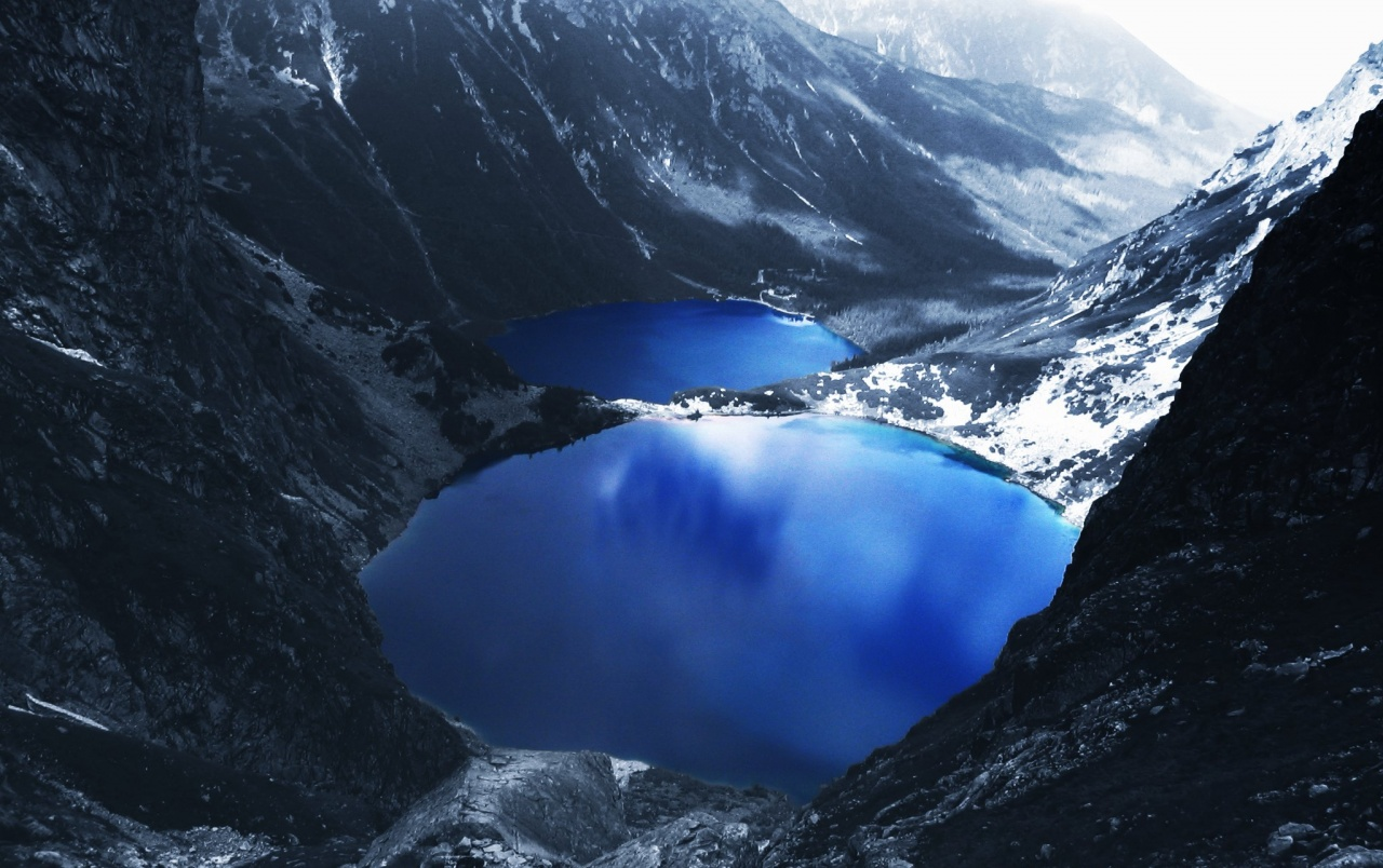 Blue Lake Mountains wallpapers