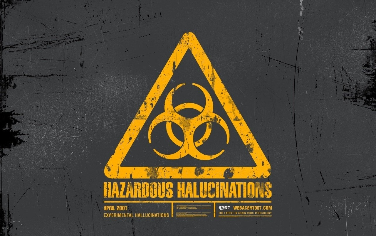 Hazardous wallpapers