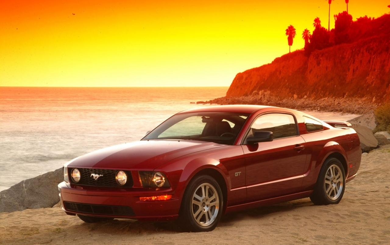 Red Mustang wallpapers