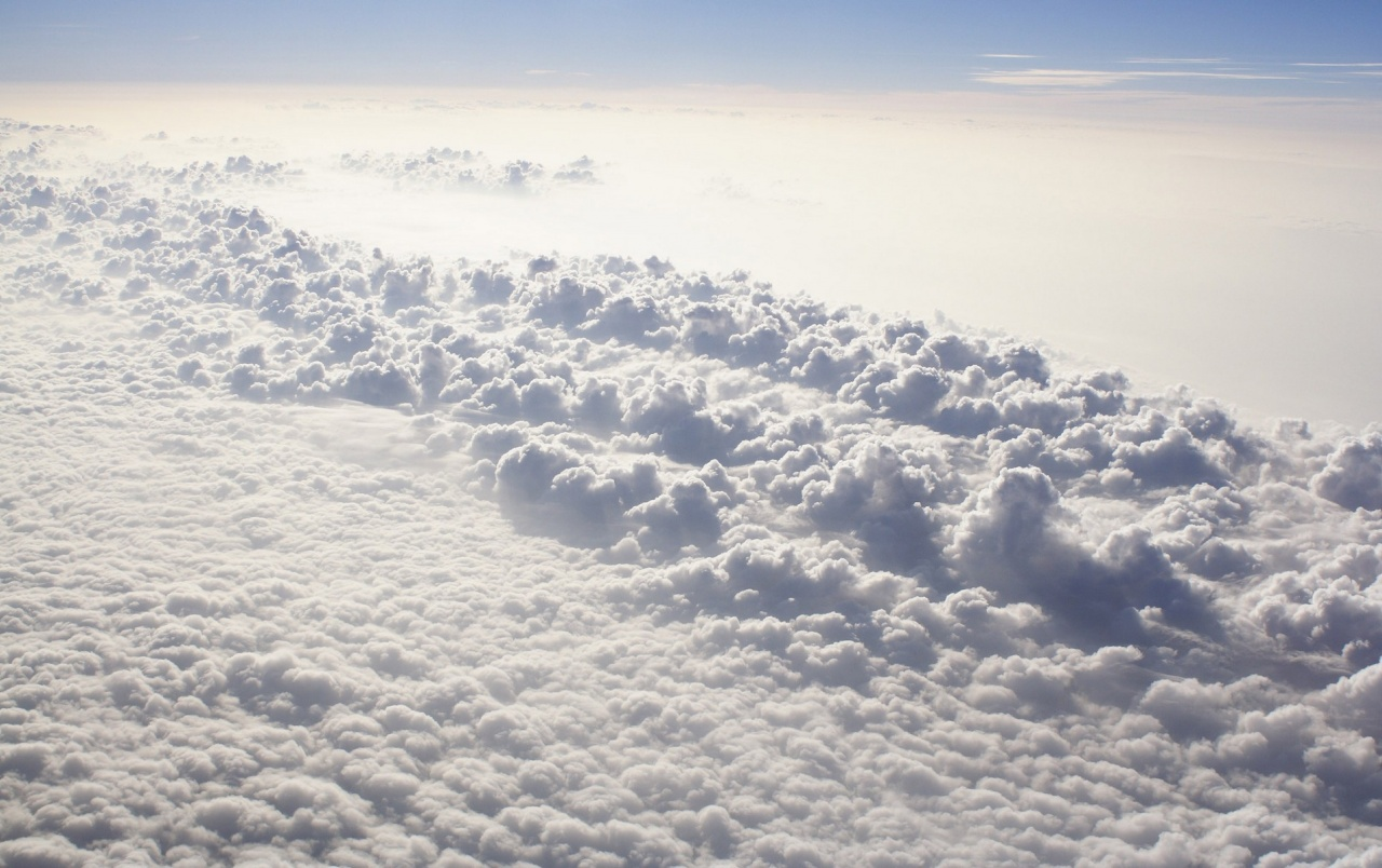 Above the clouds wallpapers