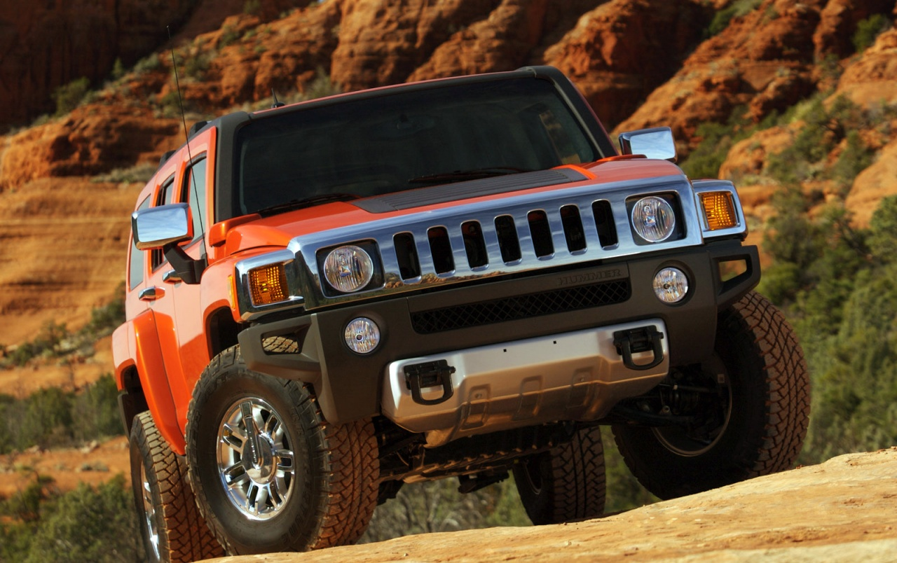Hummer front view wallpapers