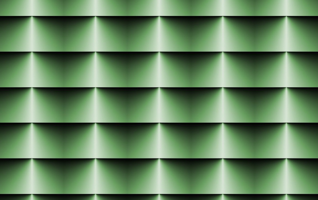 Op Art Horizontal Blinds Green wallpapers