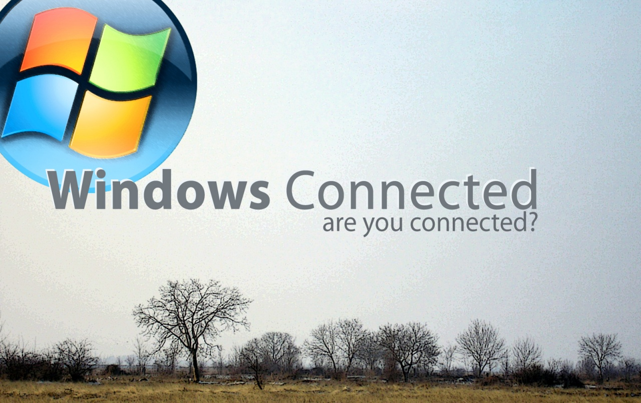 Windows Connected - Field wallpapers